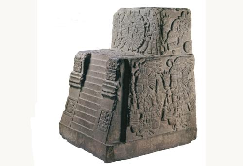 Teocalli da Guerra Sagrada. Museu Nacional de Antropologia. Cidade do México.